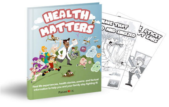 Illustrations for Health Matters book available on Amazon