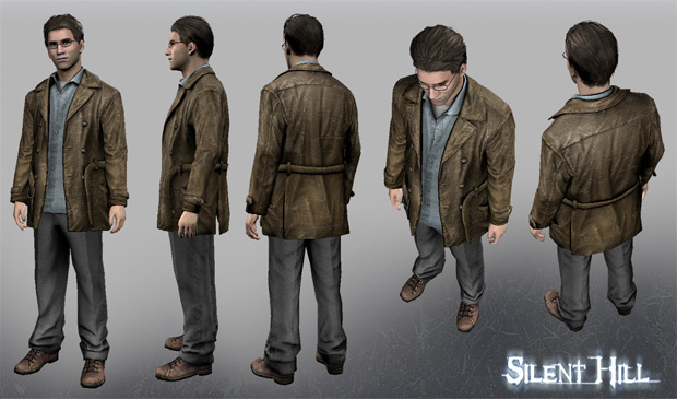Gaming Familiy Harry Mason of Silent Hill