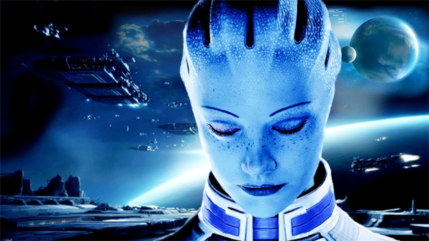 gaming family liara mass effect