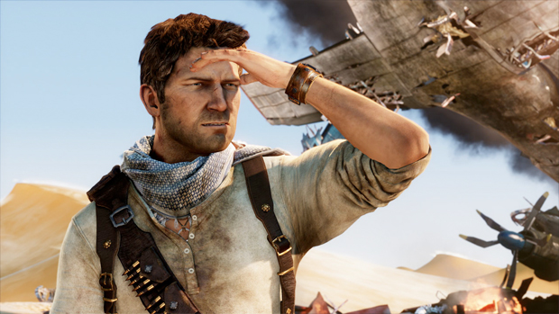 Sexy Gaming Men Nathan Drake